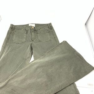 McGuire Flare Wide Jeans Olive 27 CL